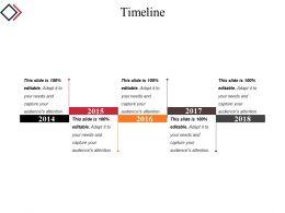 Timeline Powerpoint Presentation Templates