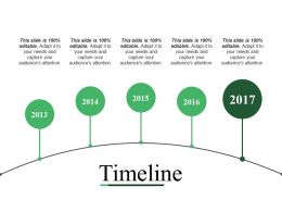 Timeline Powerpoint Slide