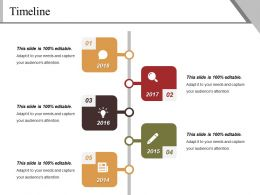 Timeline Powerpoint Slide Background Designs
