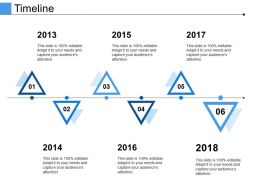 Timeline Powerpoint Slide Backgrounds