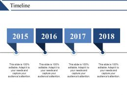 Timeline Powerpoint Slide Clipart