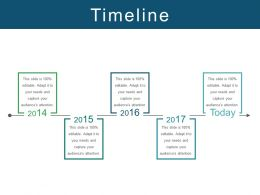 Timeline Powerpoint Slide Design Ideas