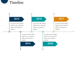 Timeline Powerpoint Slide Designs