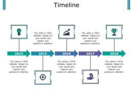 Timeline Powerpoint Slide Information