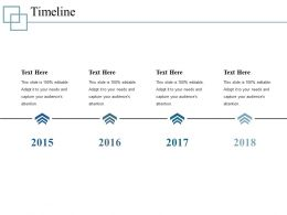 Timeline Powerpoint Slide Presentation Sample Template 1