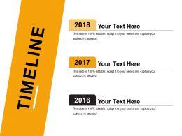 Timeline PowerPoint Slide Show