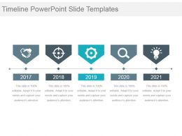 Timeline Powerpoint Slide Templates