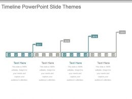 Timeline Powerpoint Slide Themes