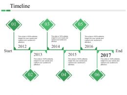 Timeline Powerpoint Slides Design