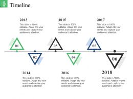 Timeline Ppt Background Graphics