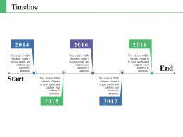 Timeline Ppt Background Image