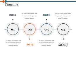 Timeline Ppt Background Template