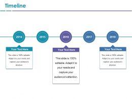Timeline Ppt File Grid