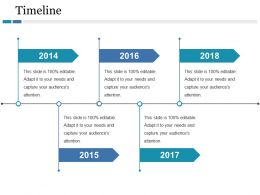 Timeline Ppt Icon Introduction