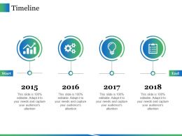 Timeline Ppt Icon Vector