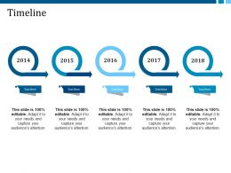 Timeline Ppt Infographic Template Template