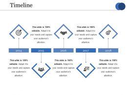 Timeline Ppt Infographics Portrait