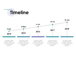 Timeline Ppt Inspiration Slide Portrait