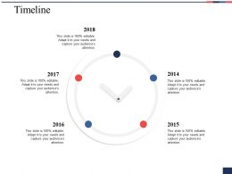 Timeline Ppt Portfolio Example Introduction