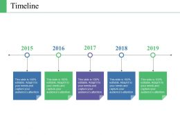 Timeline Ppt Portfolio Infographic Template