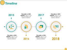 Timeline Ppt Portfolio Information