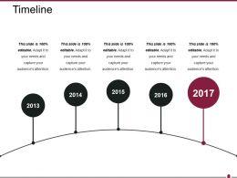 Timeline Ppt Presentation Examples