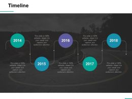 Timeline Ppt Professional Good
