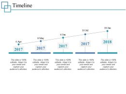 Timeline Ppt Professional Graphics Download