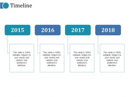 Timeline Ppt Professional Graphics Template