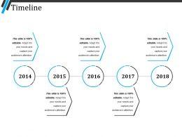Timeline Ppt Sample File
