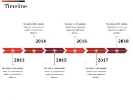 Timeline Ppt Sample File Template 2
