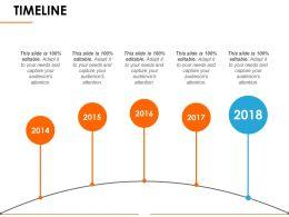 Timeline Ppt Slide