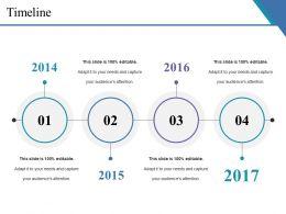 Timeline Ppt Slides