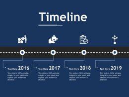 Timeline Ppt Slides Skills