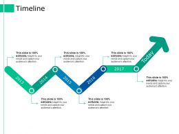 Timeline Ppt Styles Deck