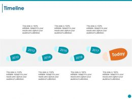 Timeline Ppt Styles Show