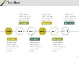 Timeline Ppt Styles Slideshow