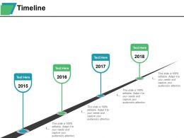 Timeline Ppt Summary Background Images