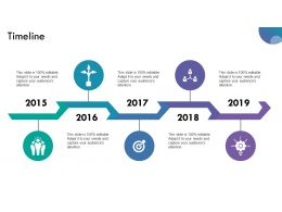 Timeline Ppt Summary Design Templates