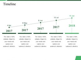 Timeline Ppt Summary Graphics