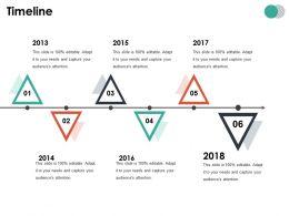 Timeline Ppt Summary Inspiration