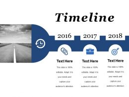 Timeline Ppt Summary Layouts