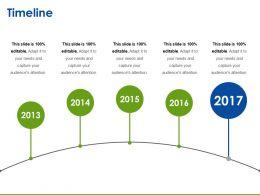 Timeline Presentation Graphics
