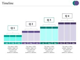 Timeline Presentation Layouts