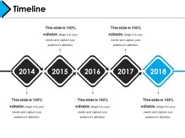 Timeline Presentation Layouts Template 1