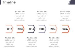 Timeline Presentation Powerpoint Example