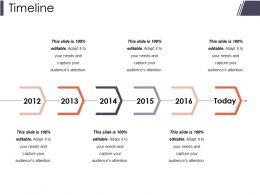 Timeline Presentation Powerpoint Example