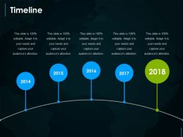 Timeline Presentation Powerpoint Templates
