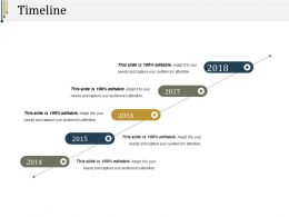 Timeline Presentation Visual Aids