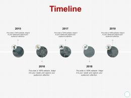 Timeline Process A434 Ppt Powerpoint Presentation Ideas Designs